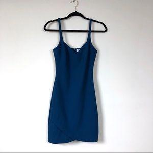 Likely revolve teal mini dress